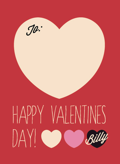 valentine's day - Silly Billy Valentine Sans Photo by Sarah Leslie