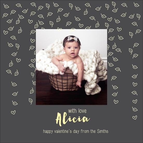 valentine's day - Alicia send love by Carolina Mejia