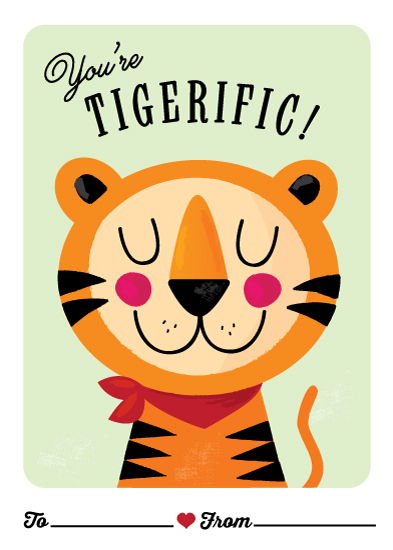 valentine's day - Tigerific by Angela Thompson
