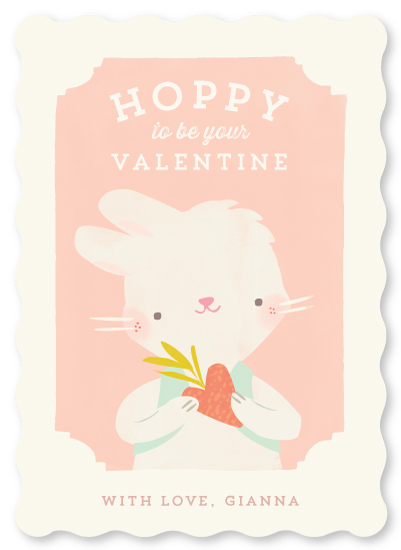 valentine's day - Valentine Zoo Bunny by Lori Wemple