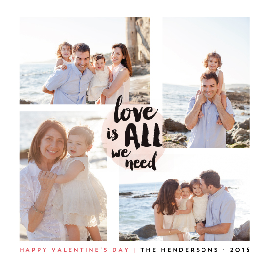 valentine's day - Love Is All We Need by Qing Ji