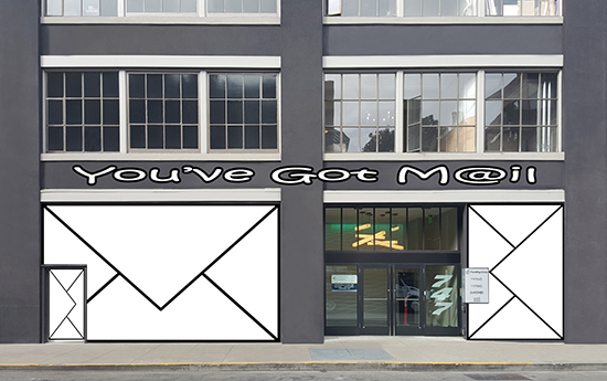 design - Youve Got Mail by Joey Razon Nuñez