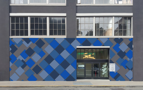 design - Breaking Tiles by Adrian