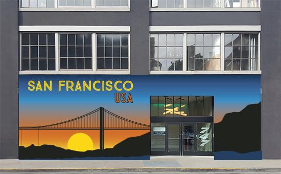 design - San Francisco, USA by Natalie Jayne