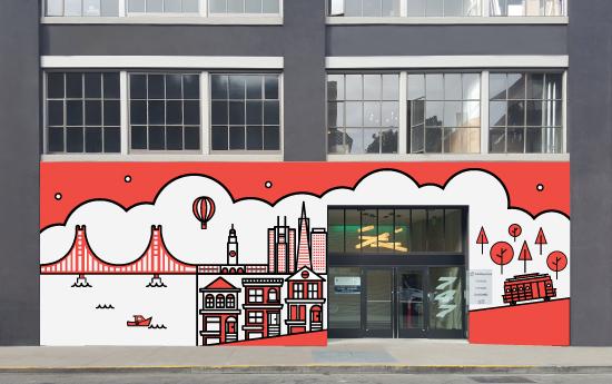 design - SFO CITY by Courtney James