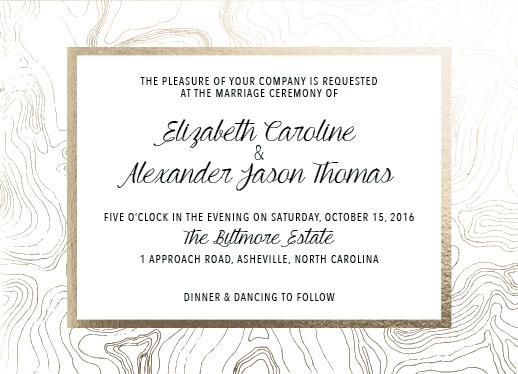 wedding invitations - Organic Tradition by Leanne Owens