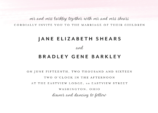 wedding invitations - Jane by Ann Thomas