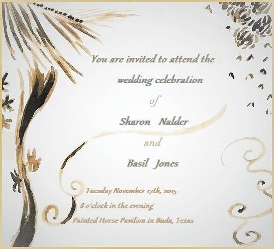 wedding invitations - Dancing Leaves by Crystal Jones