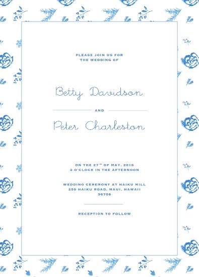 wedding invitations - Betty by Ann Thomas