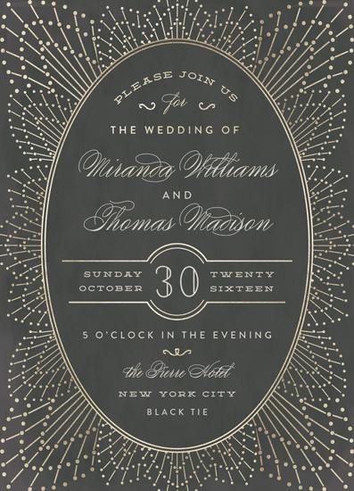 wedding invitations - Wedding Sparkler by Chris Griffith