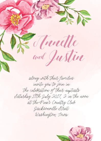 wedding invitations - Annette by Ann Thomas