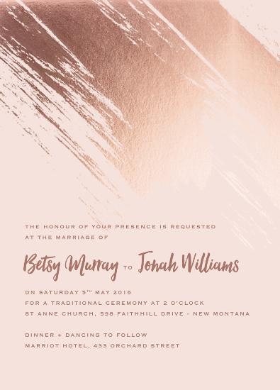 wedding invitations - Betsy by Ann Thomas