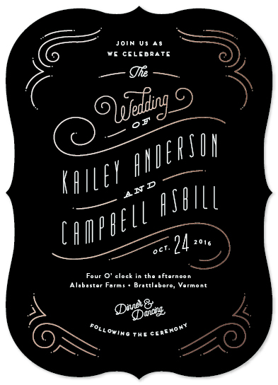 wedding invitations - Ornamentalle by Jennifer Wick