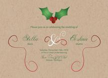Mistletoe Wedding Invit... by Jane S