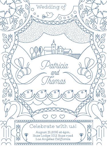 wedding invitations - loveland by Barbara Treszner