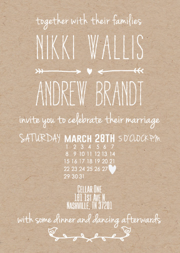 wedding invitations - Fresh and Simple by Katie Weber