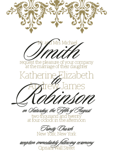 wedding invitations - Oh you fancy by Skalocky