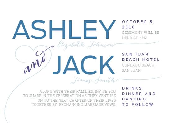 wedding invitations - Something Salty by Skalocky