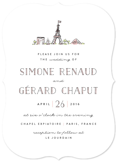 wedding invitations - Darling Day Paris by Pistols