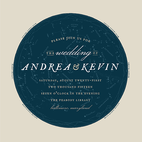 wedding invitations - Astrological Amore by Cheer Up Press