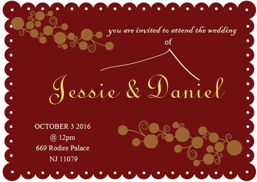 wedding invitations - Heart Of Gold by Life is Art