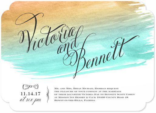 wedding invitations - Victoria by Darcy Sang