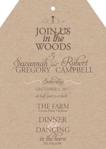 wedding invitations - Savannah by Darcy Sang