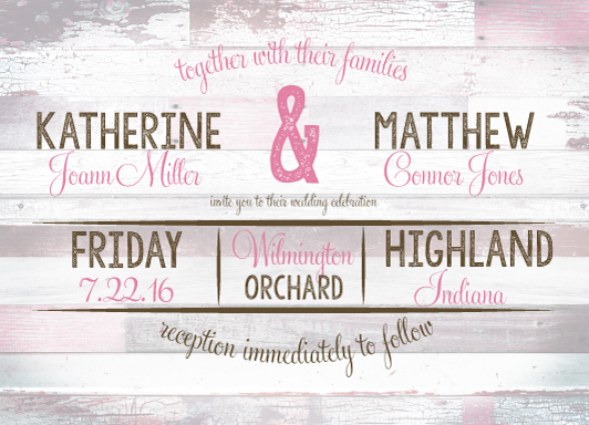 wedding invitations - Love Comes Naturally by Maygen Kubina