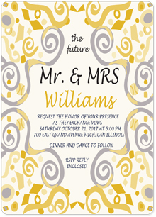 wedding invitations - SO IN LOVE by Patrice Ferguson