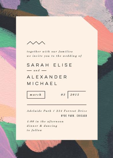 wedding invitations - Adagio by Moglea