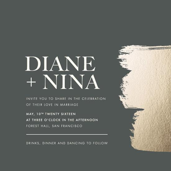 wedding invitations - A love so bright by Seven Swans
