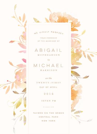 wedding invitations - Garden by Lori Wemple