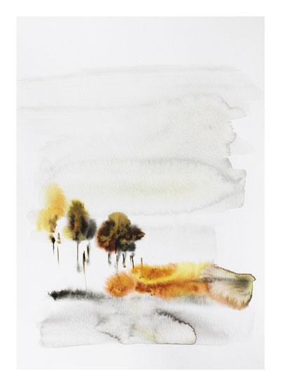 art prints - November Rain by Karen Kaul
