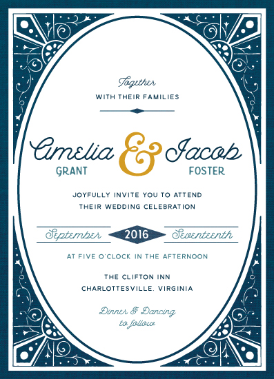 wedding invitations - Ever After by Cherry Tree