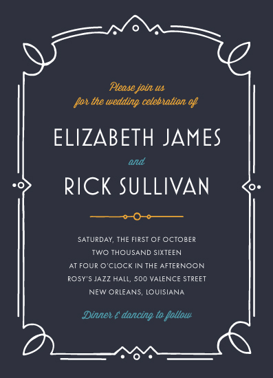 wedding invitations - Night in Casablanca by Cherry Tree