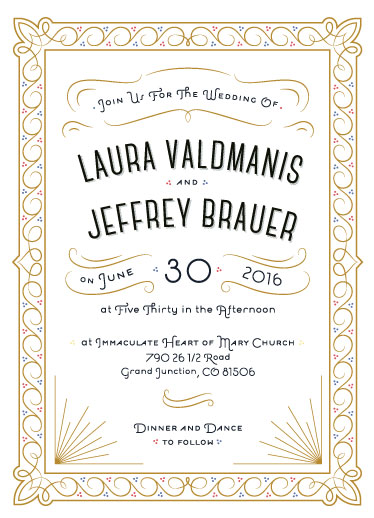 wedding invitations - Leather Bound Fairytale by Tra To