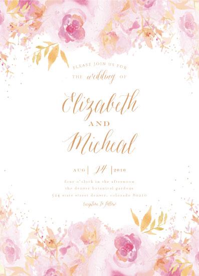 wedding invitations - Blossom by Grace Kreinbrink
