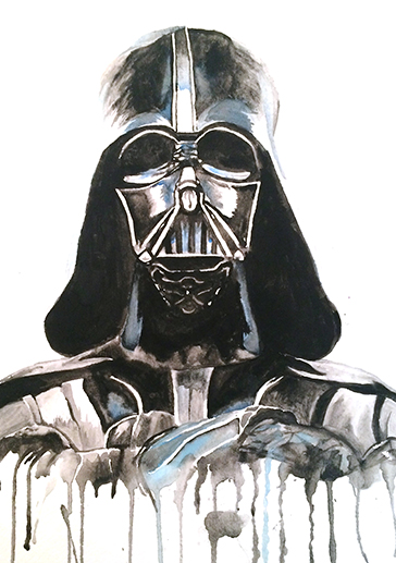 art prints - The Dark Side by Lauren Wright
