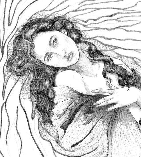 art prints - Sands of the Goddess Ver. 2 by Crystal Jones