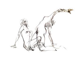 Figure Sketch/ in motion