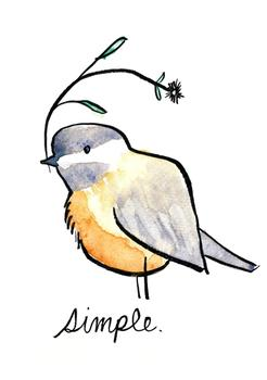 Simple Chickadee
