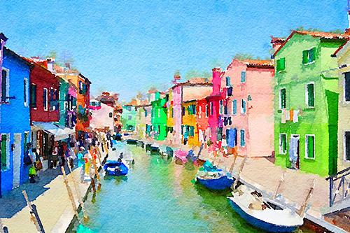 art prints - Venice by Sher Teng