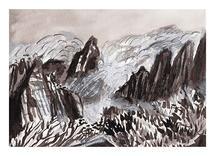 Huangshan Mountains by June Chang