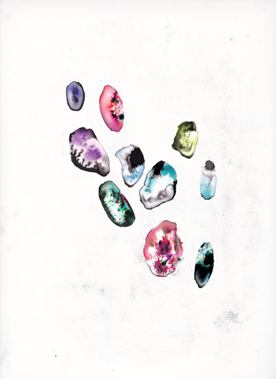 art prints - Ink Gems by Kyla Donkersgoed