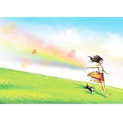 Run with a Rainbow