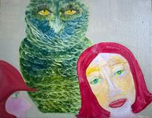 the owl and the lady by Julie Cohen