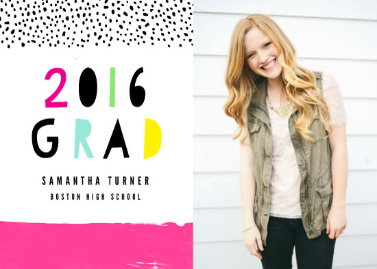 graduation announcements - Full of Fun by Fine and Dandy Paperie