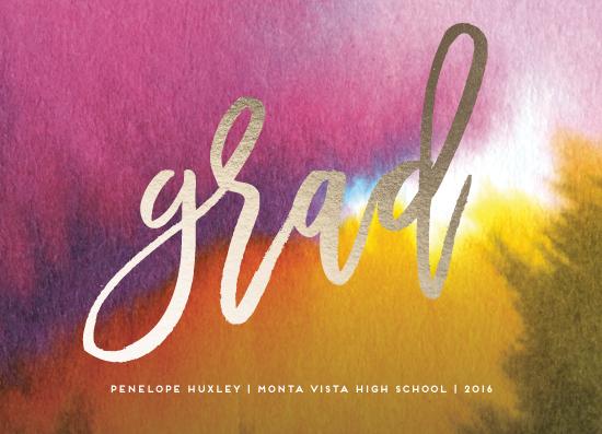 graduation announcements - Colorful Future by Simona Cavallaro