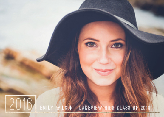 graduation announcements - Golden Corner by Liz Conley