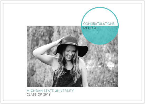 graduation announcements - Spot on by Jale Design
